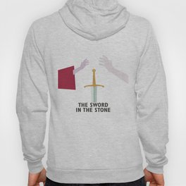 The Sword in the Stone - Movie Poster - Penguin Book version Hoody