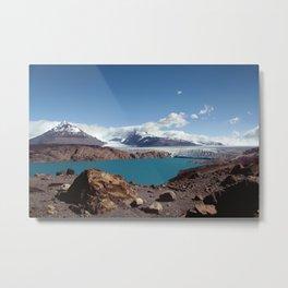 Ice & Snow- Glaciar Upsala Metal Print