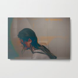 ally / the bus Metal Print