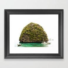 Phuket Island Framed Art Print