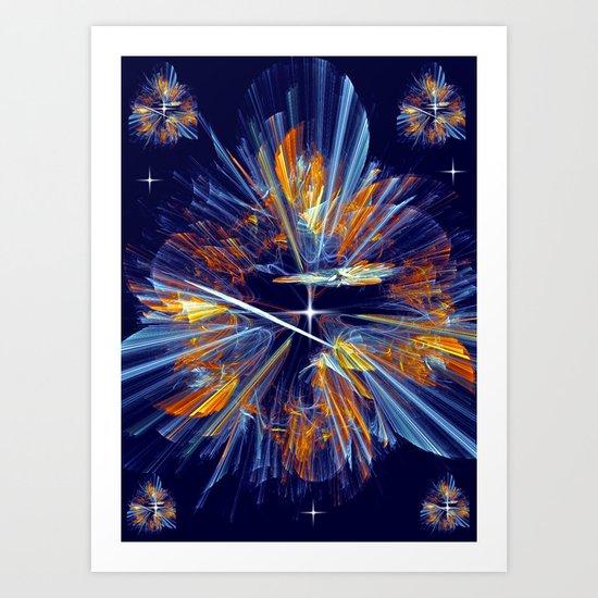 Flower of  Night Art Print