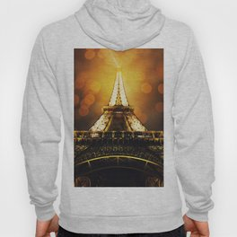 Eiffel Tower at night time Hoody