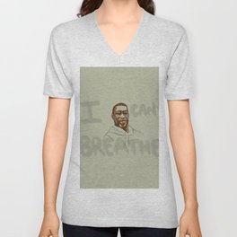 Justice for George Floyd  Unisex V-Neck