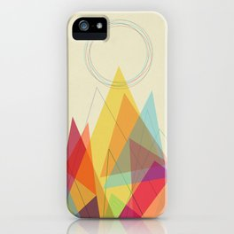 Holy Mountain iPhone Case
