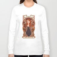 lydia martin Long Sleeve T-shirts featuring Lydia by callahaa