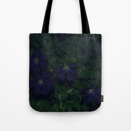 flower by night #2 Tote Bag