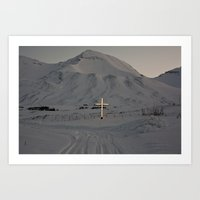 Cemeteries of the North Art Print
