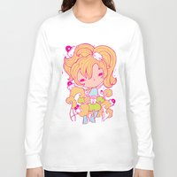 police Long Sleeve T-shirts featuring Mushroom police by Kat Kalindi Cameron