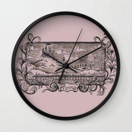 """Home"" Wall Clock"