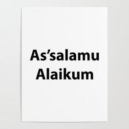 As'salamu Alaikum Poster