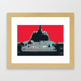 T34 Framed Art Print