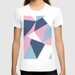 Abstraction Pink T-shirt