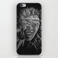 Blackstar by Cap Backard iPhone Skin