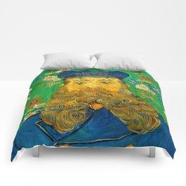 Vincent van Gogh - Portrait of Postman Comforters