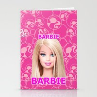 barbie Stationery Cards featuring Barbie by Maxvision