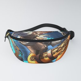 tracer over Fanny Pack