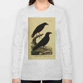 Crow And Raven Long Sleeve T-shirt
