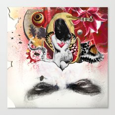 MINGA x Sleepless is the Watchful Eye Canvas Print