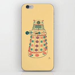 Dia de los Daleks iPhone Skin