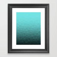 Underwater Tris Framed Art Print