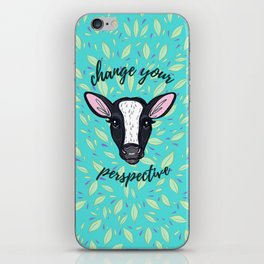 Change Your Perspective White Blaze iPhone Skin