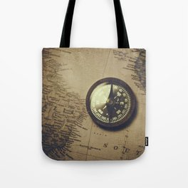 The old compass Tote Bag