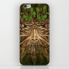 The Green Man - Spring iPhone Skin