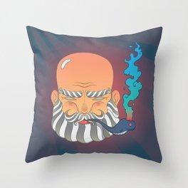 Beardy Throw Pillow