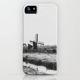 Wind Farm iPhone Case