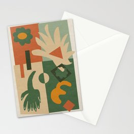 Geometric Abstract 02 Stationery Cards