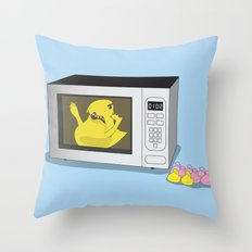 Where My Peeps At Throw Pillow