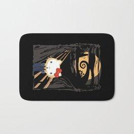 The Halloween Screaming cat apple iPhone 4 4s 5 5s 5c, ipod, ipad, pillow case and tshirt Bath Mat