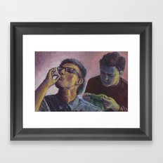 Times Like These Framed Art Print