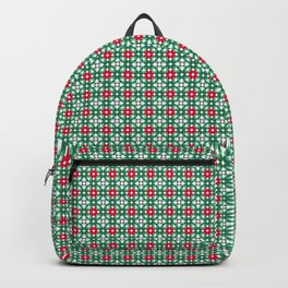 Christmasy Pattern Backpack