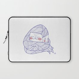 haircatlady and cat Laptop Sleeve