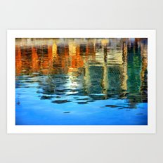 Reflection of Where I've Been Art Print