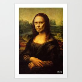 The Mona Buscemi Art Print