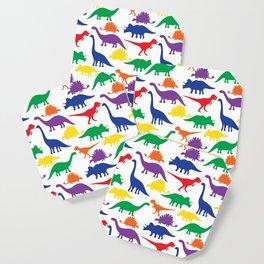 Dinosaurs - White Coaster