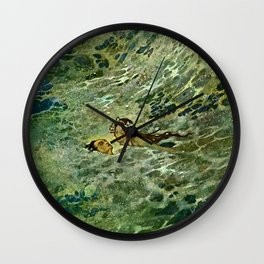 """""""The Mermaid in the Sea"""" by Edmund Dulac Wall Clock"""
