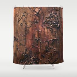 Exploded Shower Curtain
