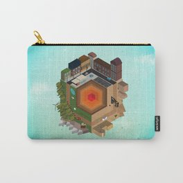 A Tiny World Carry-All Pouch