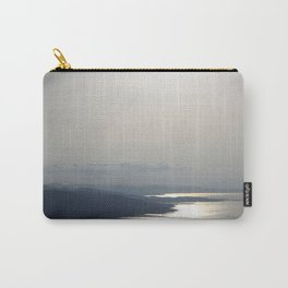 Silver Grey Hues of Gokova Bay Carry-All Pouch