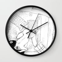 apollonia Wall Clocks featuring asc 547 - My New Year's resolutions - November by From Apollonia with Love