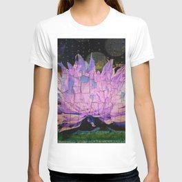 Crackling Lonesome Flower T-shirt
