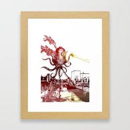 WAR FOR THE WORLDS Framed Art Print