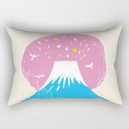 """Symbol of happiness """"Mount Fuji"""" Japan Rectangular Pillow"""