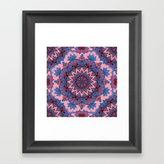 Mandala 67 Framed Art Print