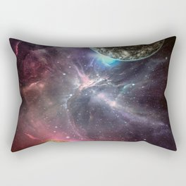 Mating of the Planets Rectangular Pillow