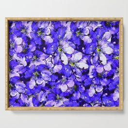 lilac ground Serving Tray