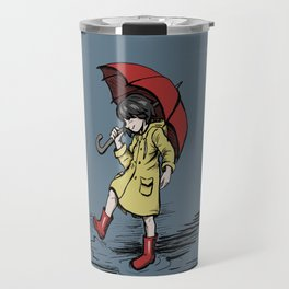 Happy Rain Travel Mug
